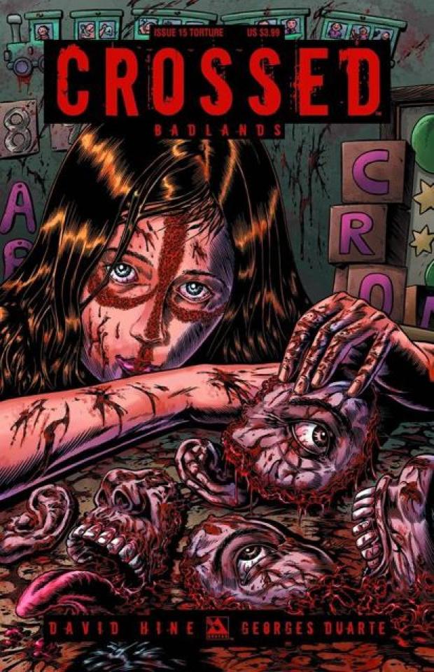 Crossed: Badlands #15 (Torture Cover)