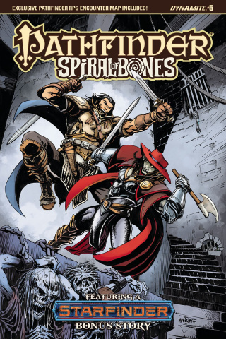 Pathfinder: Spiral of Bones #5 (Mandrake Cover)