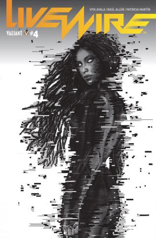 Livewire #4 (Pollina B&W Cover)