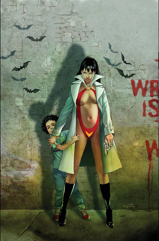 Vampirella #24 (30 Copy Mastrazzo B&W Cover)