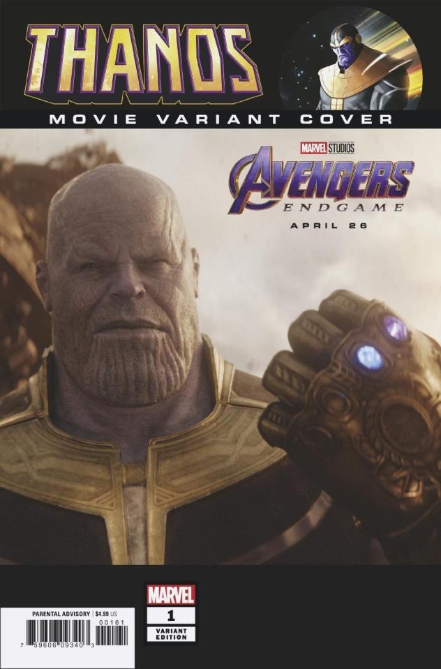 Thanos #1 (Movie Cover)
