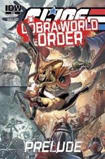 G.I. Joe: Cobra World Order Prelude (Cover B)