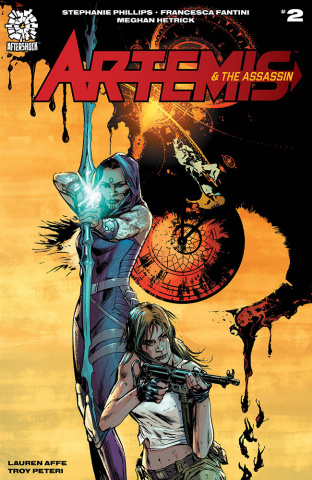 Artemis and the Assassin #2 (10 Copy Guice Cover)