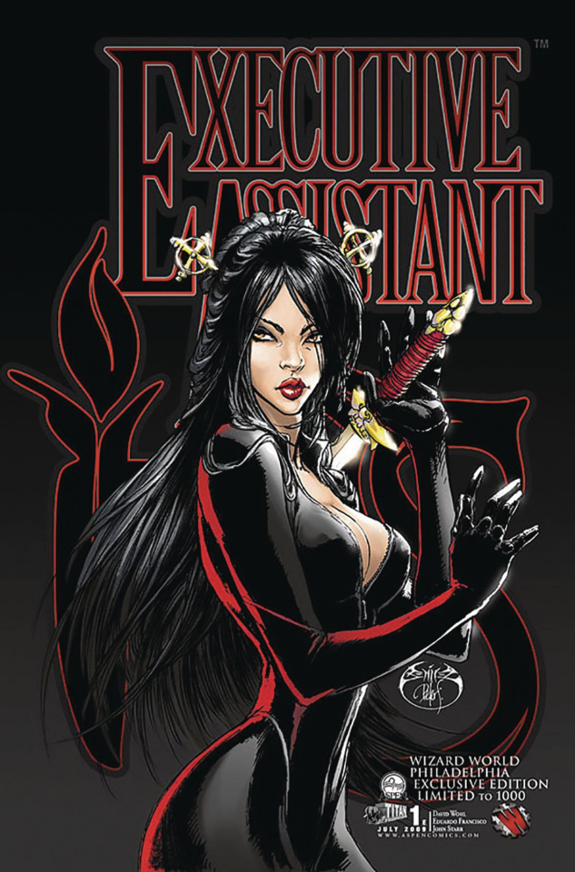 Executive Assistant Iris #1 (WW Philly 2009 Cover)