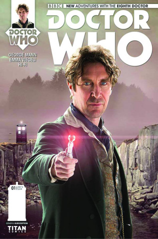 Doctor Who: New Adventures with the Eighth Doctor #1 (Subscription Photo Cover)