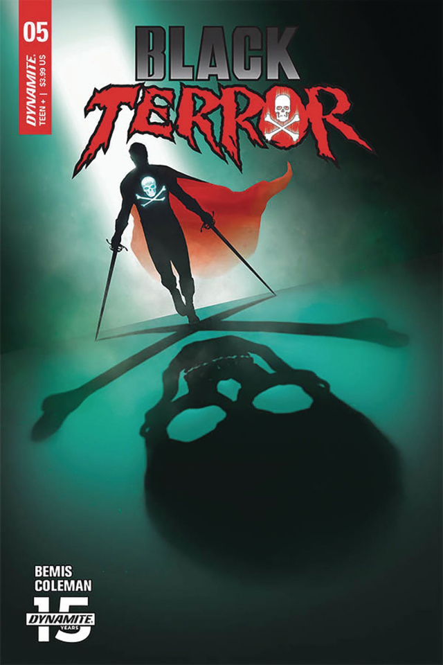 Black Terror #5 (Rahzzah Cover)