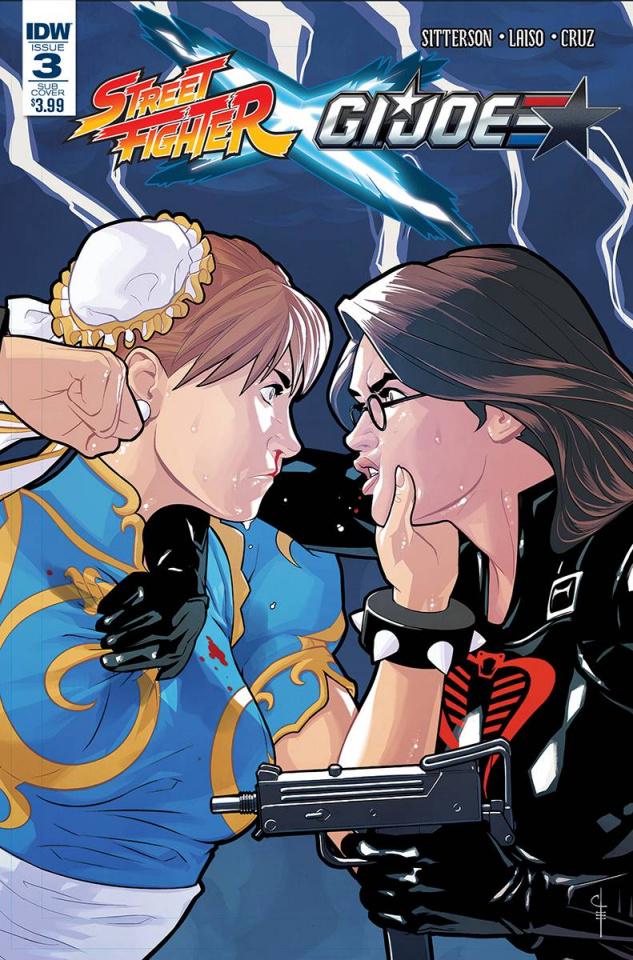 Street Fighter X G.I. Joe #3 (Subscription Cover)