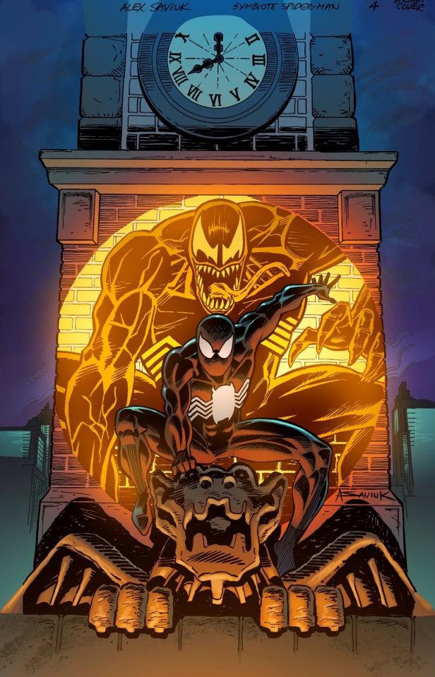 Symbiote Spider-Man #4 (Saviuk Cover)