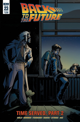 Back to the Future #23 (Ferreira Cover)