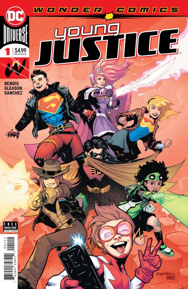 Young Justice #1 (2nd Printing)