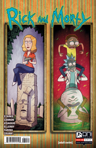 Rick and Morty #31 (Vasquez Cover)