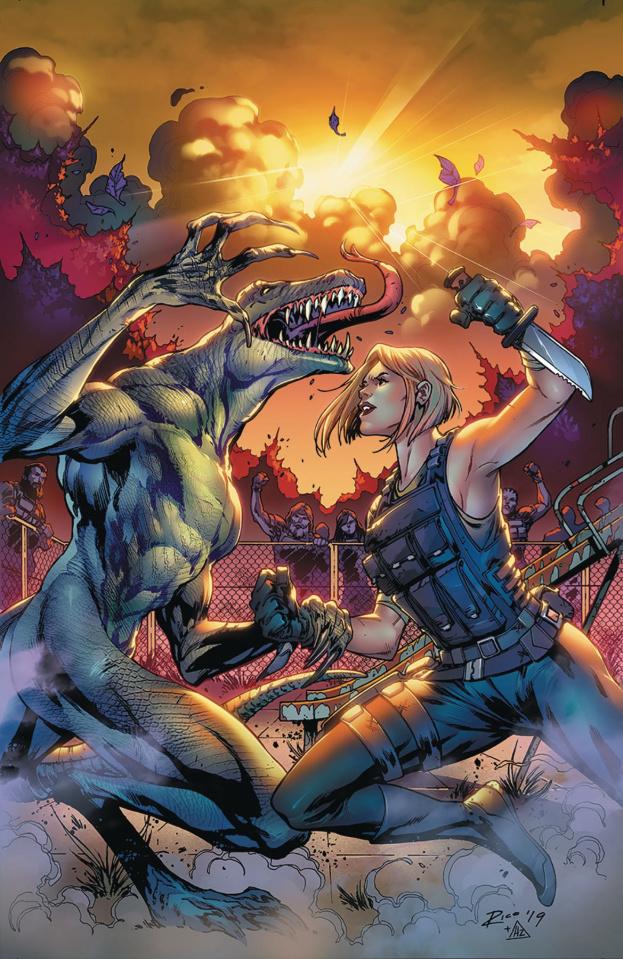 Monster Planet #4 (Richardson Cover)