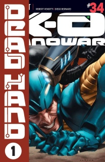 X-O Manowar #34 (Larosa Cover)