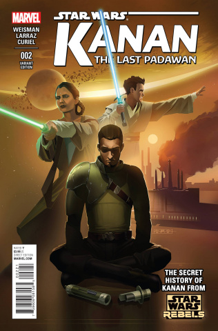 Kanan: The Last Padawan #2 (Rebels Television Show Cover)