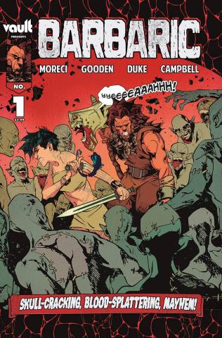 Barbaric #1 (4th Printing)