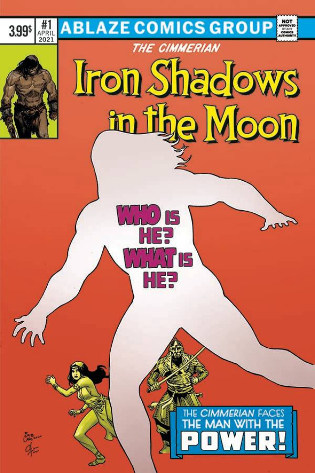 The Cimmerian: Iron Shadows in the Moon #1 (Casas Cover)