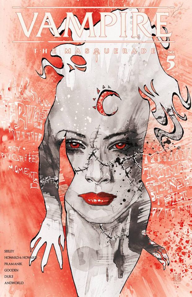 Vampire: The Masquerade #5 (Daniel Cover)