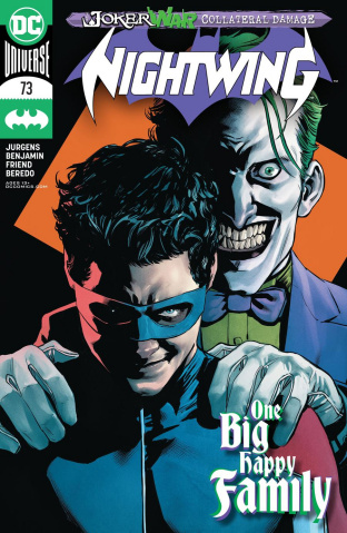 Nightwing #73 (Travis Moore Cover)