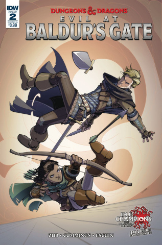 Dungeons & Dragons: Evil At Baldur's Gate #2 (Dunbar Cover)