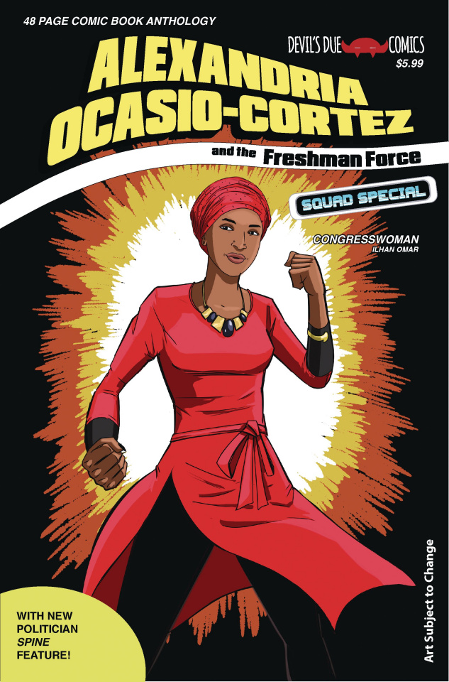 Alexandria Ocasio-Cortez and the Freshman Force Squad Special #1 (Cover C)
