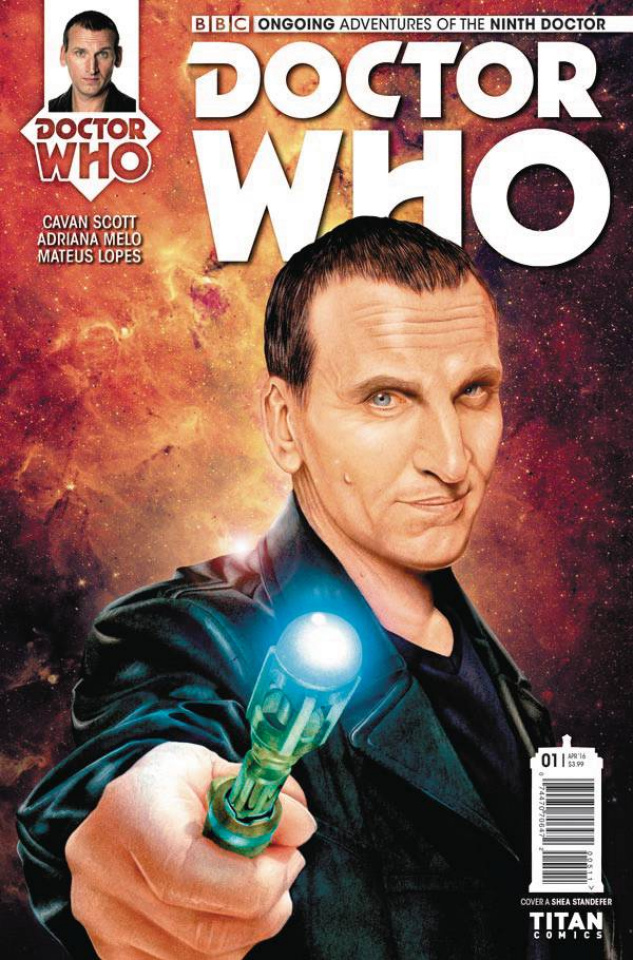 Doctor Who: New Adventures with the Ninth Doctor #1 (Standefer Cover)