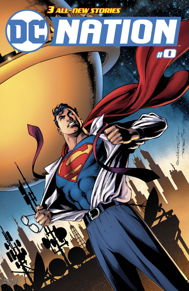 DC Nation #0 (Superman Cover)
