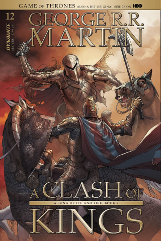 A Game of Thrones: A Clash of Kings #12 (Miller Cover)