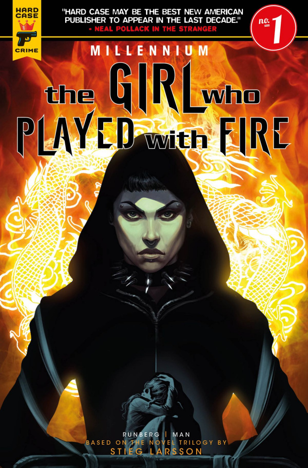 The Girl Who Played With Fire #1 (Iannici Cover)