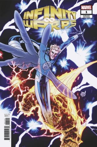 Infinity Wars: Infinity Warps #1 (Kubert Connecting Cover)