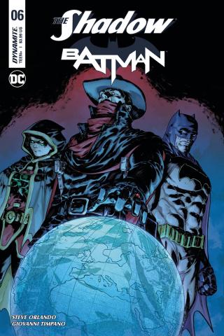 The Shadow / Batman #6 (Timpano Subscription Cover)