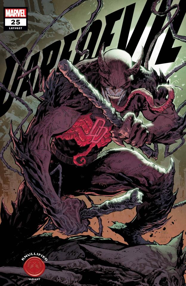 Daredevil #25 (Lashley Knullified Cover)