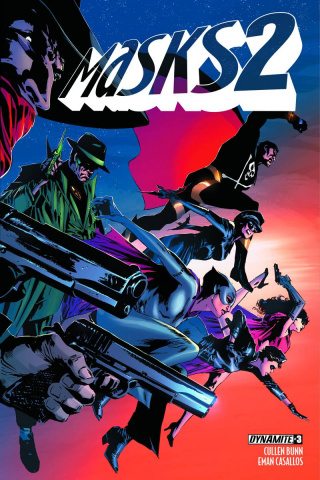 Masks 2 #3 (Guice Cover)