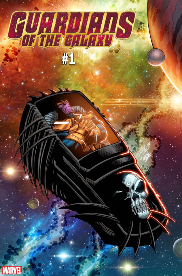 Guardians of the Galaxy #1 (Lim Cover)