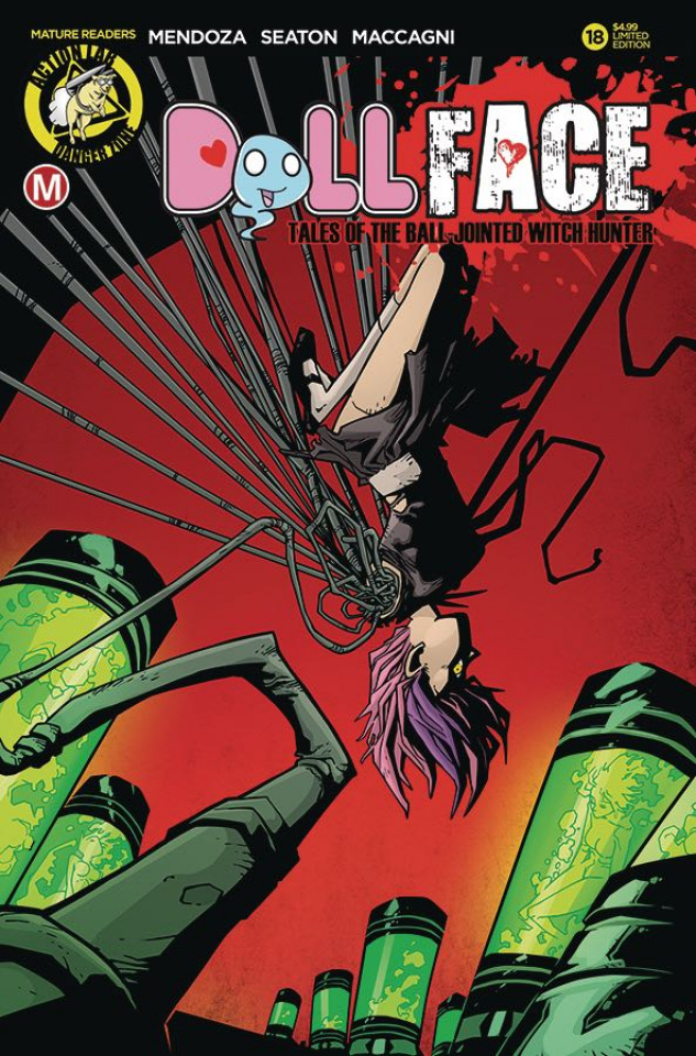 Dollface #18 (Stanley Pin Up Cover)