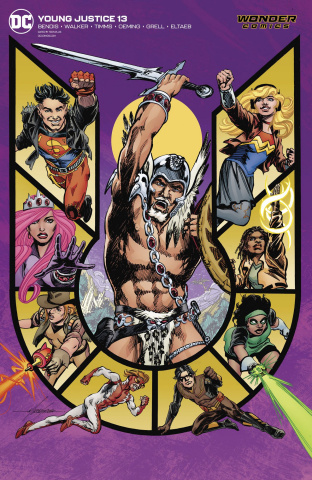 Young Justice #13 (Mike Grell Cover)