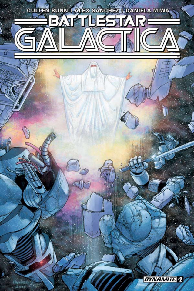 Battlestar Galactica #2 (Sanchez Cover)