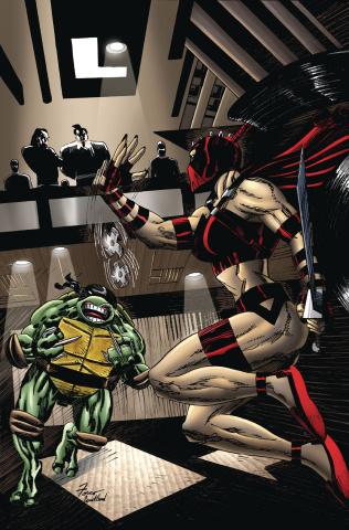 Teenage Mutant Ninja Turtles: Urban Legends #22 (Fosco Cover)