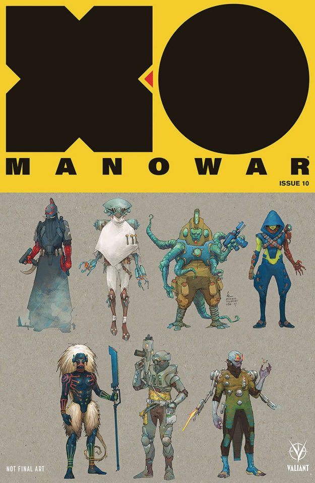 X-O Manowar #10 (20 Copy Rocafort Cover)