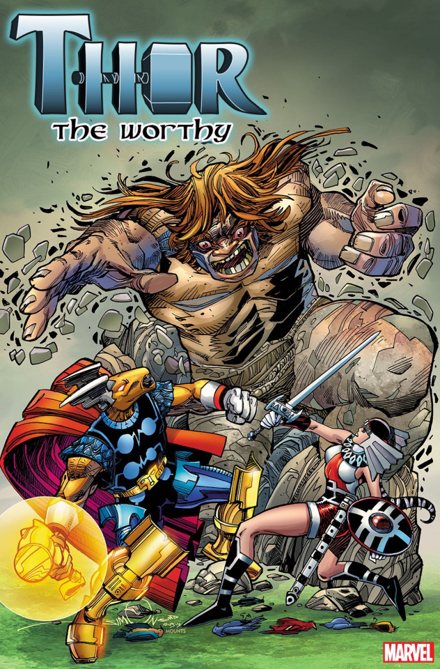 Thor: The Worthy #1 (Simonson Cover)