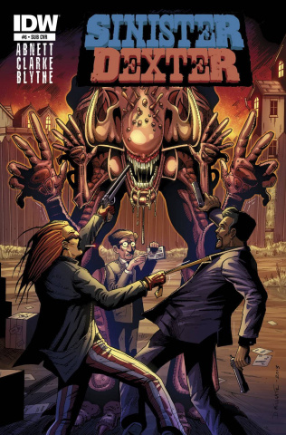 Sinister Dexter #6 (Subscription Cover)