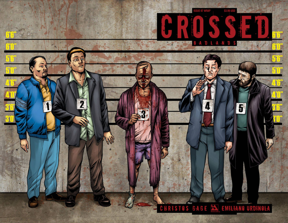 Crossed: Badlands #97 (Wrap Cover)