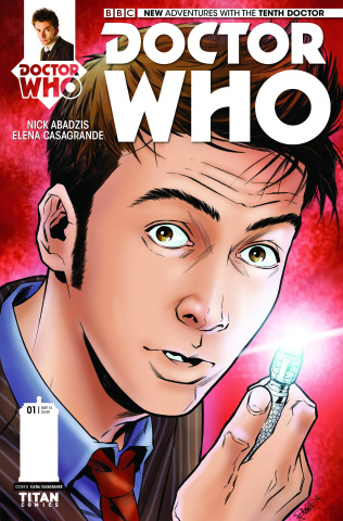 Doctor Who: New Adventures with the Tenth Doctor #1 (Casagrande Cover)