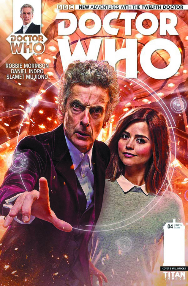 Doctor Who: New Adventures with the Twelfth Doctor, Year Two #4 (Photo Cover)