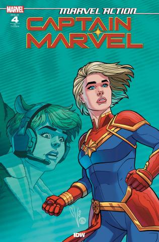 Marvel Action: Captain Marvel #4 (10 Copy Megan Levens Cover)