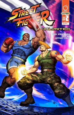 Street Fighter Unlimited #2 (Genzoman Story Cover)