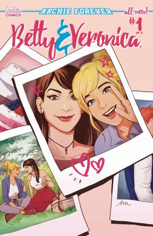 Betty & Veronica #1 (Mok Cover)