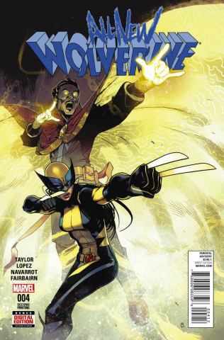 All-New Wolverine #4 (Bengal 2nd Printing)