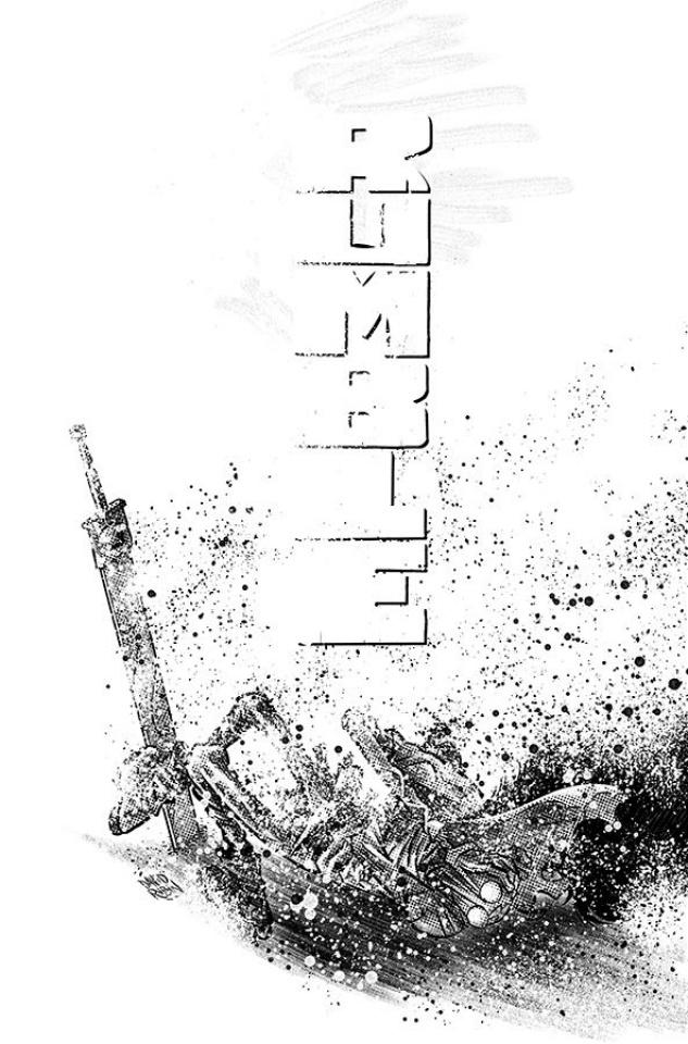 Rumble #15 (B&W Rubin Cover)