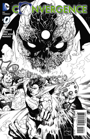 Convergence #0 (Black & White Cover)