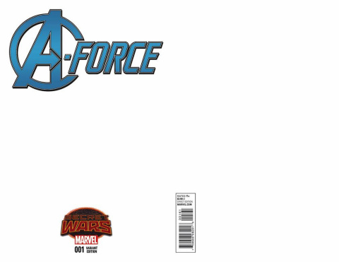 A-Force #1 (Blank Cover)